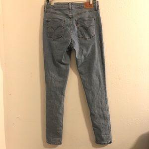 Levi's Jeans - Levi's 721 high rise skinny light wash jeans